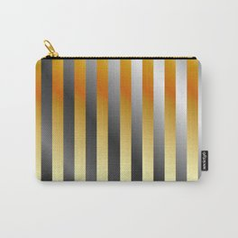 Illustration of a meta steel and gold Carry-All Pouch