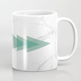 Marble Scandinavian Design Geometric Triangle Coffee Mug