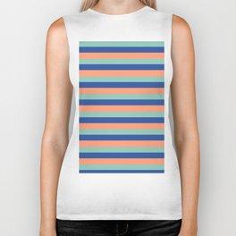 Just Stripes Biker Tank