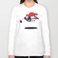 england Long Sleeve T-shirts featuring NEW ENGLAND by dapperdesignz