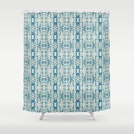 Integration: Bokeh Brocade Shower Curtain