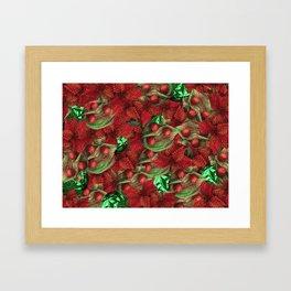 Fire Brick Crusoe Framed Art Print