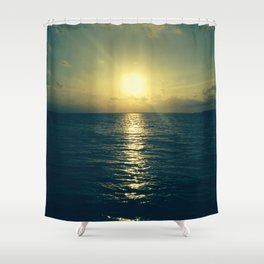 Even the end is beautiful Shower Curtain