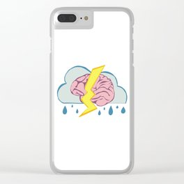 Brainstorm Clear iPhone Case
