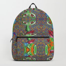 Feeling a Little Green Before That First Taste of Coffee Backpack