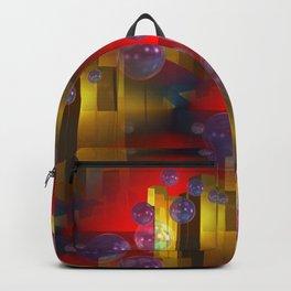 3d-bubble-pattern Backpack