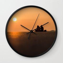 Coucher de soleil Wall Clock