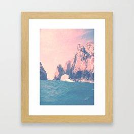 Summer in Cabo Framed Art Print