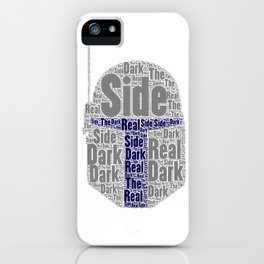 The real dark side - Jango iPhone Case