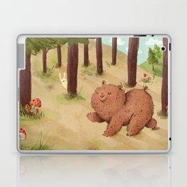 Fat Little Bear Laptop & iPad Skin