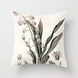 Catasetum hookeri Throw Pillow