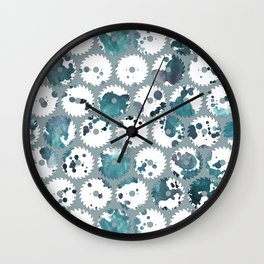 Saw blades Wall Clock