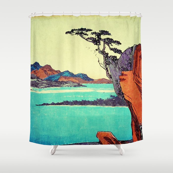 Waking from Winter Shower Curtain