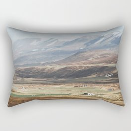 Icelandic Farm Country Rectangular Pillow