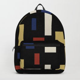 Abstract Theo van Doesburg Composition VII The Three Graces Backpack