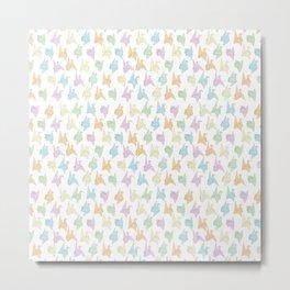 1000 Paper Cranes Metal Print