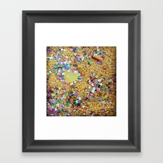 Remnants of the Good Times Framed Art Print