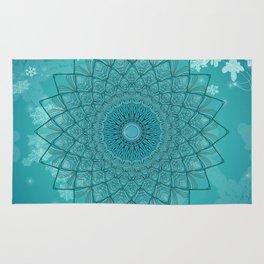 Ice Mandala Rug