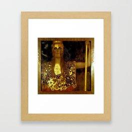 """Pallas Athena"", Gustav Klimt Framed Art Print"