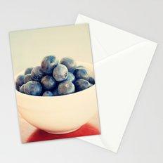 blueberry bush Stationery Cards