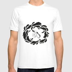 The Inking MEDIUM Mens Fitted Tee White