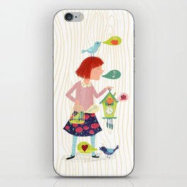 Song of the Cuckoos iPhone Skin