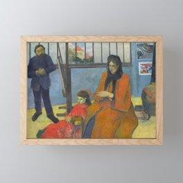 Schuffenecker Family by Paul Gauguin Framed Mini Art Print