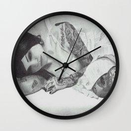 Kat Wall Clock
