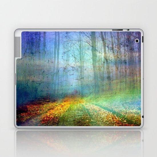 Forêt enchantée Laptop & iPad Skin