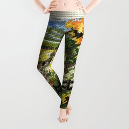 Found Tapestry Landscape Leggings