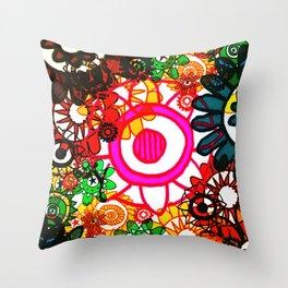 Hippy Shake! Throw Pillow