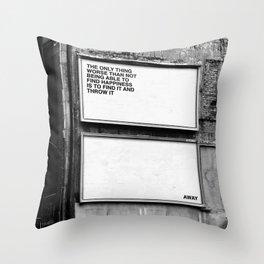 Billboard Fantasies #1 Throw Pillow