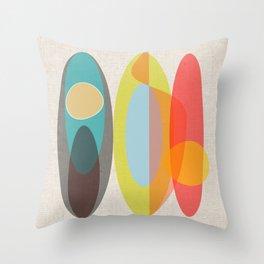 SURF  Throw Pillow