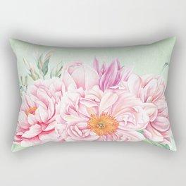 Flowers bouquet 64 Rectangular Pillow