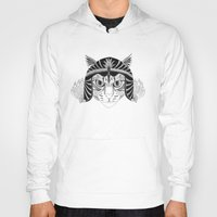 simba Hoodies featuring Simba, the fighter by Wondering Wagon