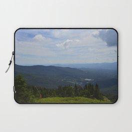 Stowe, Vermont Mountains Laptop Sleeve