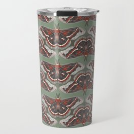 Cecropia Moth Travel Mug