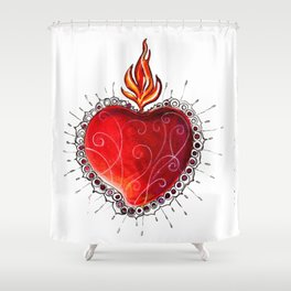ExVoto Shower Curtain