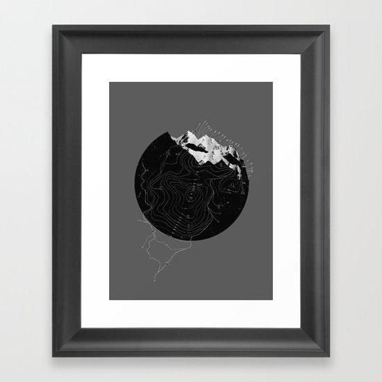 Topos Framed Art Print
