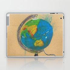 Diddie Doodle the Illuminated Globe Laptop & iPad Skin