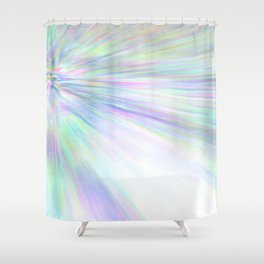 Re-Created Rapture 3 by Robert S. Lee Shower Curtain