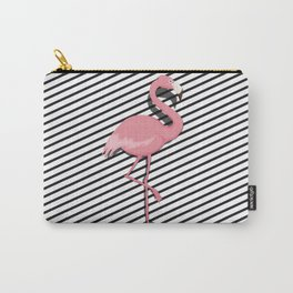 Cute Flamingo Carry-All Pouch