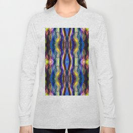 Hand Painted Waves Long Sleeve T-shirt