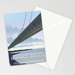 Humber Bridge, Lincolnshire & Yorkshire Stationery Cards