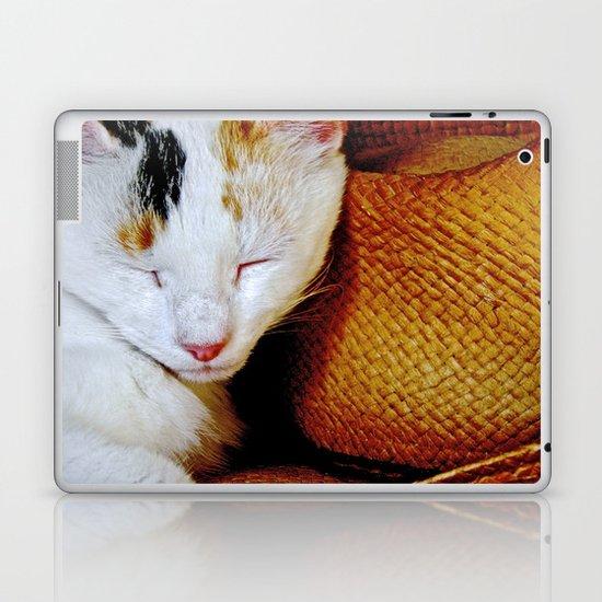 The Cowboy's Cat Laptop & iPad Skin