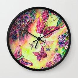 BUTTERFLIES BALL Wall Clock