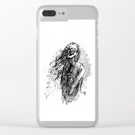 Ghost Series #6 Clear iPhone Case