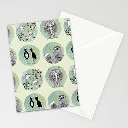 New Zealand Birds Pattern Stationery Cards