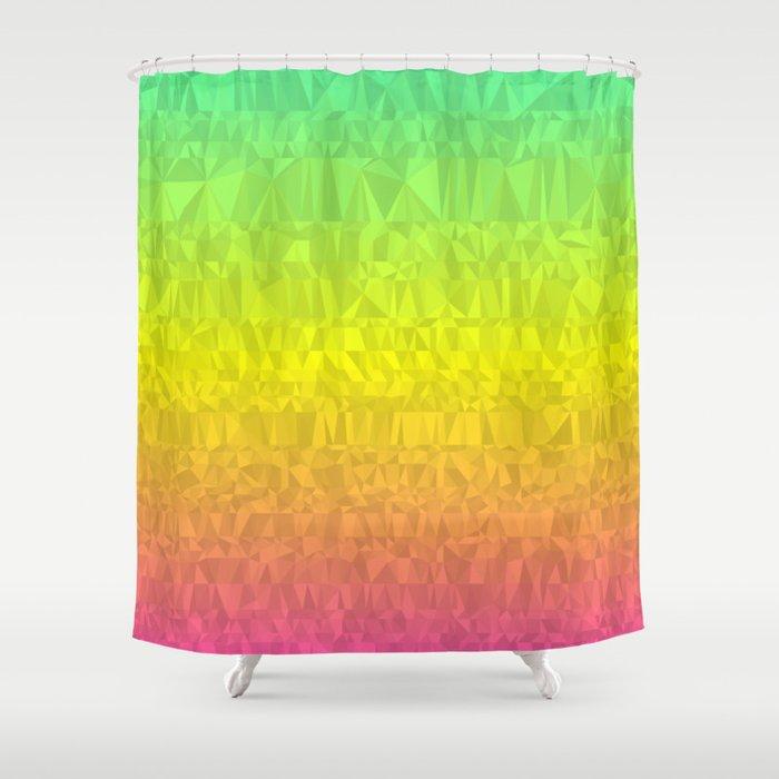 Summer - Flipped Shower Curtain