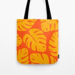 Monstera Leaf Print 1 Tote Bag